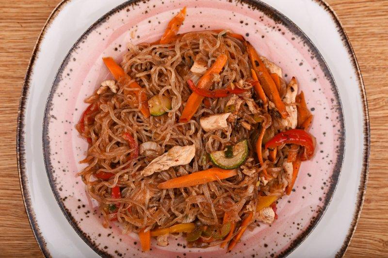 Calorie free Sanghai no carb noodles
