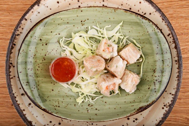Shao gyoza  stuffed with prawn