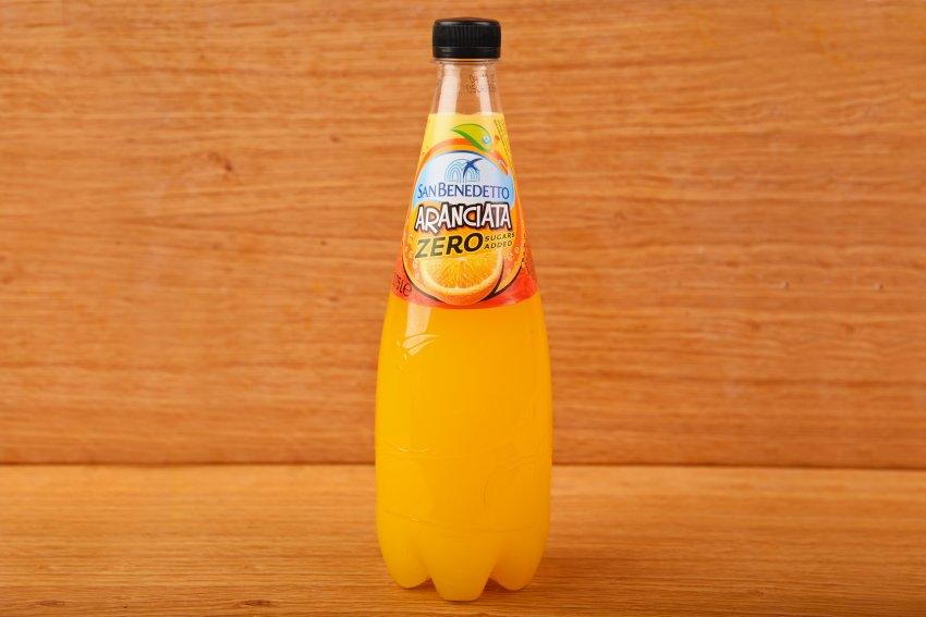 San Benedetto Zero sugar-free Aranciata orange
