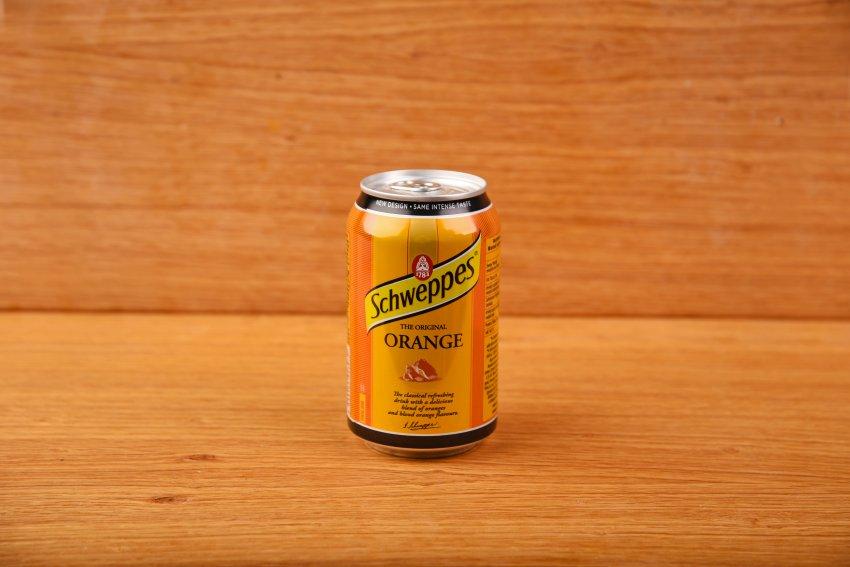 Schweppes orange