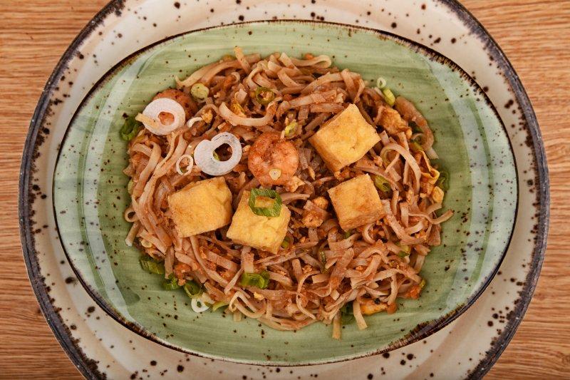 Pad Thai with schrimps