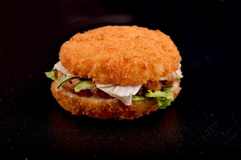 Maguro sushi burger