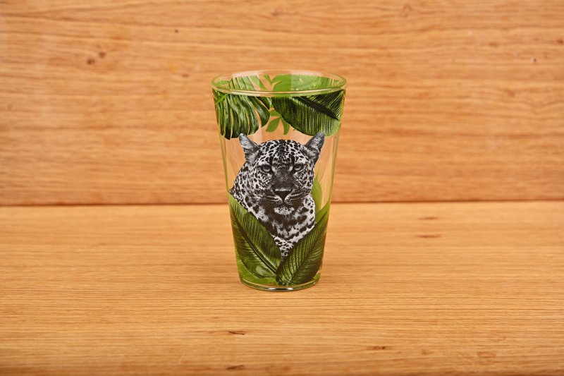 Tumbler with peopard pattern   300 ml
