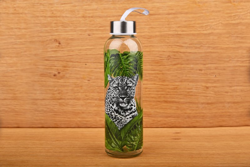 Water bottle with African pattern  500 ml