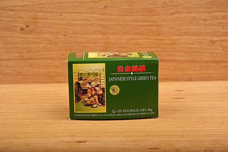 Japanese style green tea
