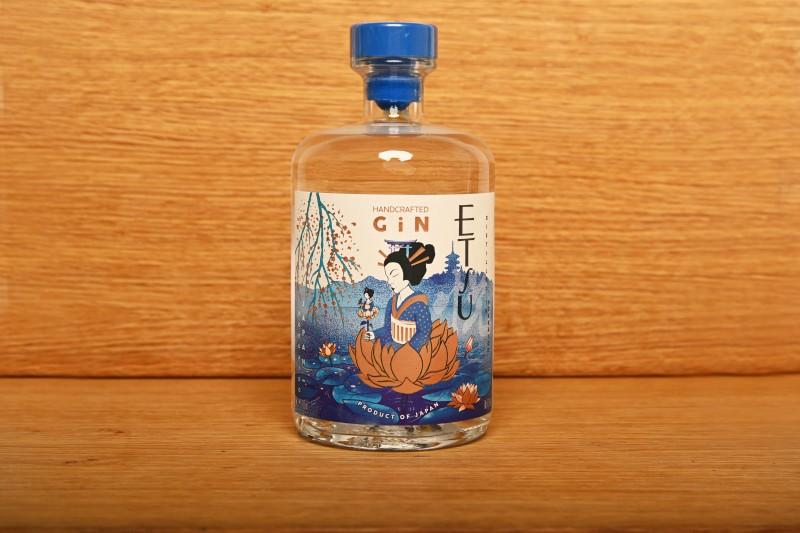 Etsu gin (0,7 l, 43%) - Japanese premium gin
