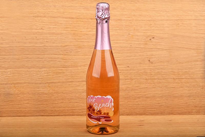 Pink Beach dry rosé sparkling wine