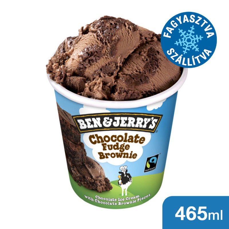 Ben&Jerry's Chocolate Fudge Brownie 465ml
