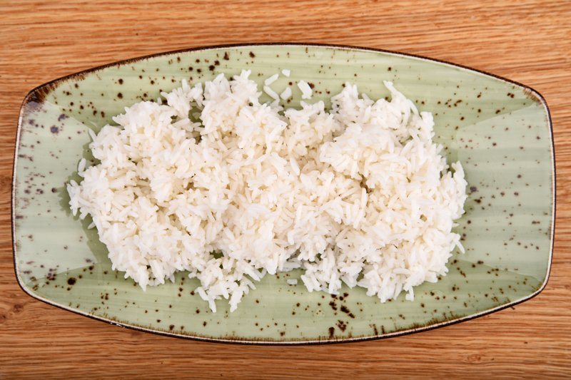 Steamed jasmin rice