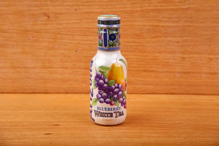 AriZona blueberry-pear white tea