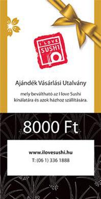 Voucher 8,000 HUF